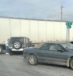 Semi and car collide