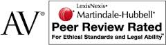AV Peer Review Rated logo - GoodinAbernathy
