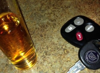 Liquor & Car Keys don't mix