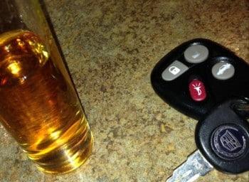 Liquor & Car Keys don't mix