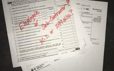 Employees vs. Sub-Contractors in Indiana | W-2 vs 1099-Misc